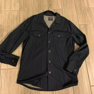 abercrombie and fitch shirt jacket large